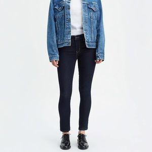 Levi's 711 Skinny Jeans Dark Wash NWOT